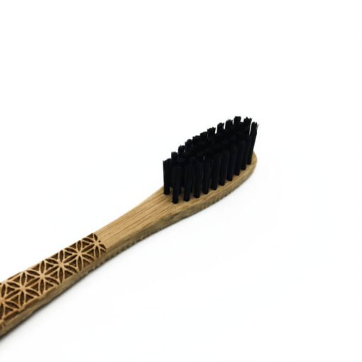 Bamboo Toothbrush - Flower of Life Head