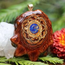 Crushed Lapis Sacred Geometry