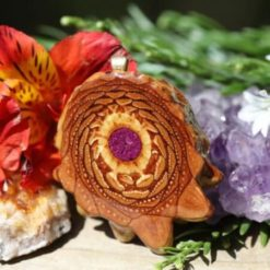 Third Eye Pinecones Crushed Sugilite