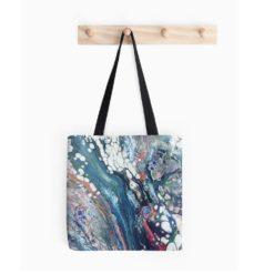 Fluid Cells Tote Bag