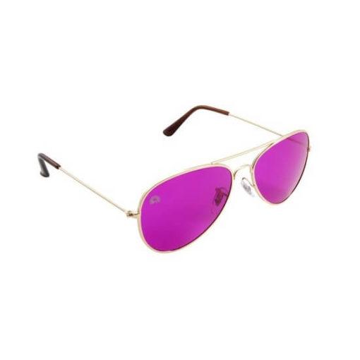 Rainbow OPTX Aviator Glasses Magenta