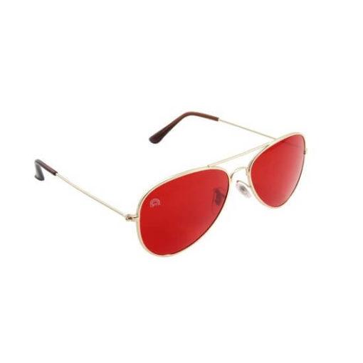 Rainbow OPTX Aviator Glasses Red