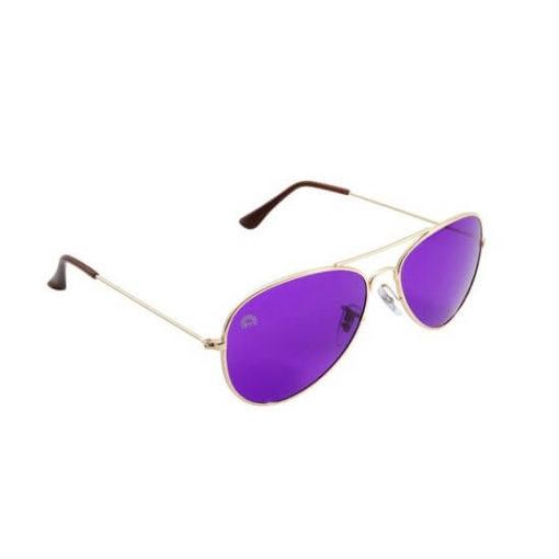 Rainbow OPTX Aviator Glasses Violet