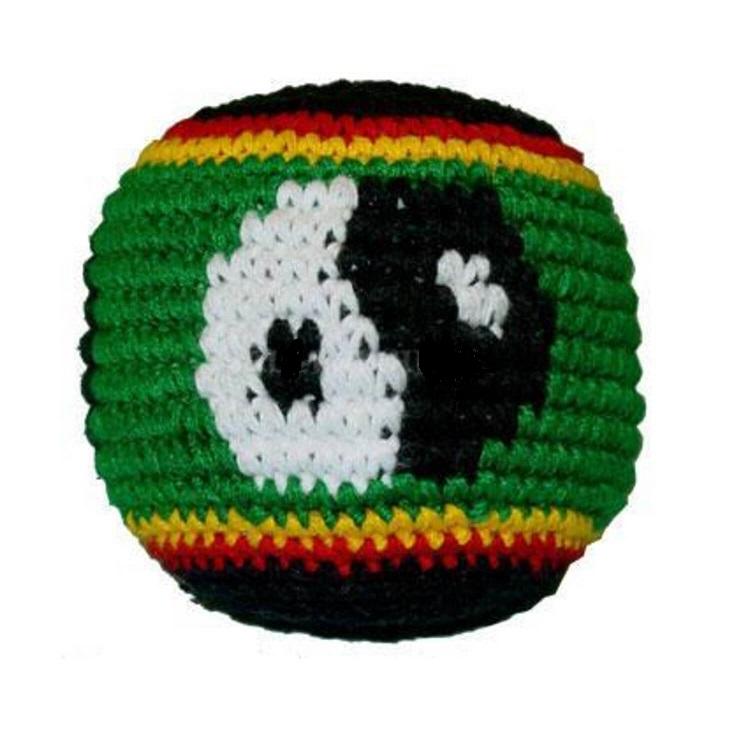 Yin Yang Rasta Guatemalan Hacky Sack Good Vibe Gifts