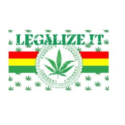 Legalize It Flag