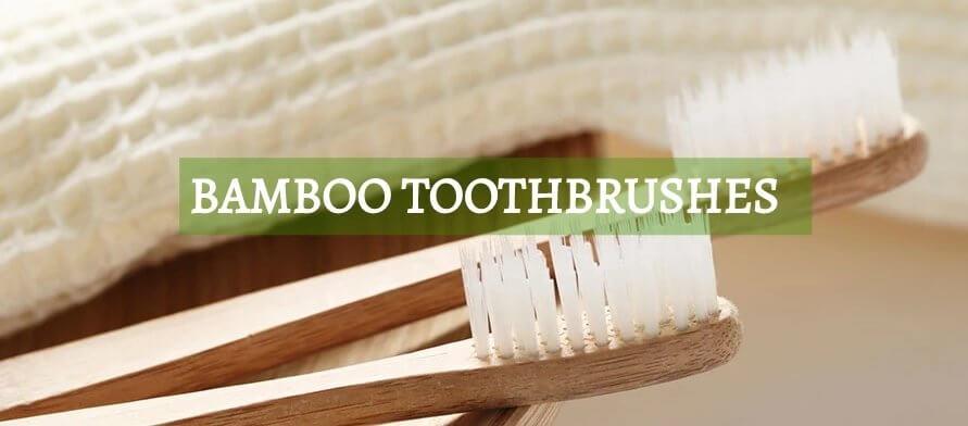 Bamboo Toothbrush Banner