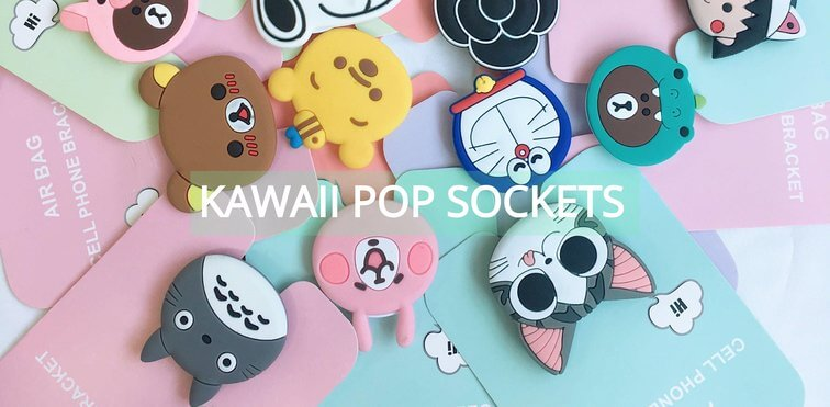 Kawaii Pop Socket Banner