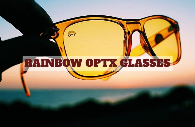 Rainbow Optx Chakra Colored Sunglasses
